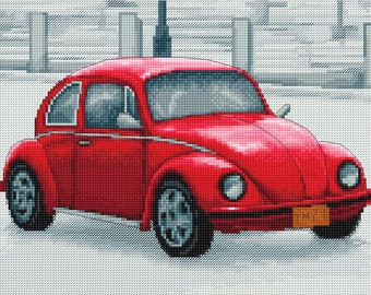 RVD1 044 Retro car