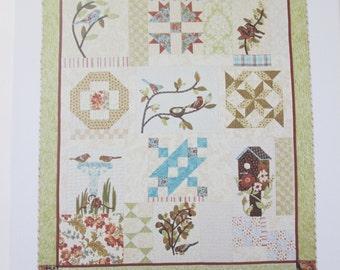 My English Garden No. 123 Quilt Pattern, A Graceful Stitch