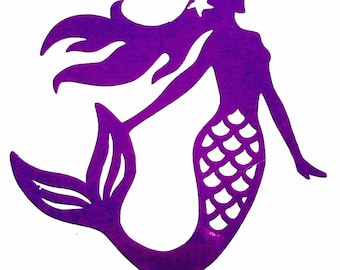 DIY Mermaid Vinyl Decal, Lady of the Sea, Mythical Creature, Laptop Decal, Tablet, Cell Phone Decal, Car Window Decal, Drinkware Decal