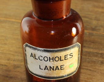Vintage 1960's Apothecary Bottle
