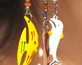 Sea Animal Earrings