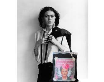 """Frida"" cotton shopping bag"