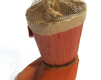 Antique Santa Boot Candy Container Japan c1920
