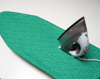 Ironing Board Cover TABLE TOP - kelly green cell design