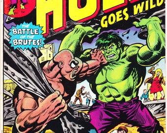 The Incredible Hulk 179, Bronze Age comic, Smash, Battle book, Herb Trimpe art. 1974 Marvel Comics in VF+ (8.5)