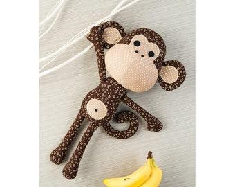 Patrick the Monkey Toy Sewing Pattern 803603