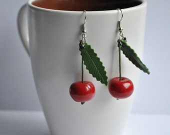Cherry Earrings - Gifts for her