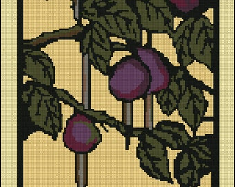 Part 1 Digital Needlepoint Pattern Craft Movement Floral