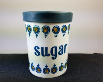Vintage Sugar Dispenser Jar