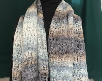 Lace Mohair Shawl