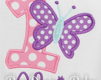 Butterfly Birthday Outfit, Butterfly First Birthday Outfit, Birthday Butterfly, Butterfly 1st Birthday, CUSTOM AGE/COLORS, Personalized