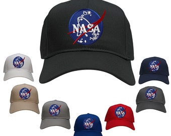 NASA Space Insignia Embroidered Iron On Logo Patch Snapback Cap (27-079-INSIGNIA)