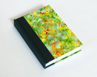 """Sketchbook 4x6"""" with motifs of marbled papers - 10"""