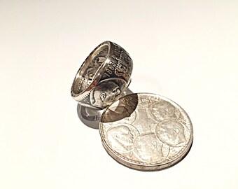 Coin 30 drachmai Silver (coin ring)