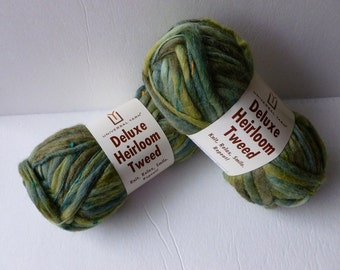Sale Green Tweed Deluxe Heirloom Tweed by Universal Yarn