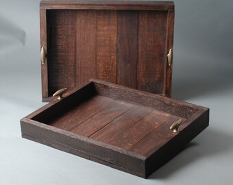 Rustic Tray with handles