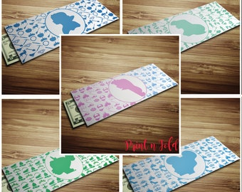 Princess Bundle Gift Envelopes - Money Envelopes