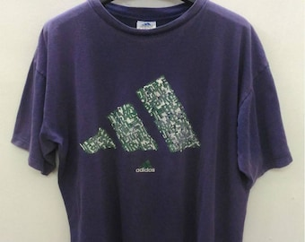Vintage Adidas Three Stripes T-Shirt