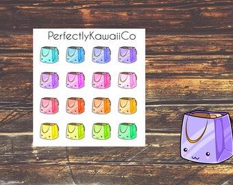 KCD07 Kawaii Shopping Bag Sticker