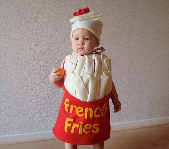sc 1 st  Etsy & Baby French Fry Costume Halloween Costume Infant Kids Toddler