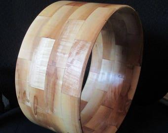 """Segmented Ambrosia Maple Snare Drum Shell 6 3/4"""" x 14"""""""