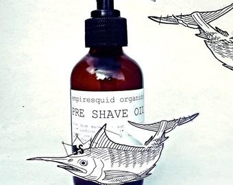 Pre Shave Oil - All Natural Shaving Oil - Organic Shaving Oil - Organic Preshave Oil - Vegan Shaving Lotion - Organic Shave Oil