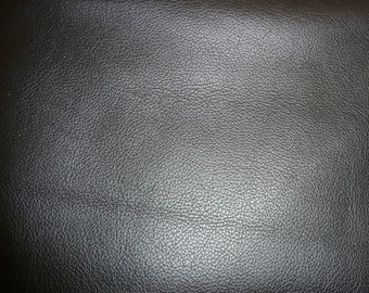 "Leather 20""x20"" Biker BLACK Top Grain Cowhide 3.5 oz / 1.4mm PeggySueAlso™ E2879-03 Hides avaiable"