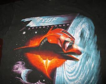 1986 ZZ Top concert shirt afterburner