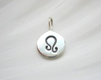 Sterling Silver Leo Zodiac Charm - Add On - Astrological Sign