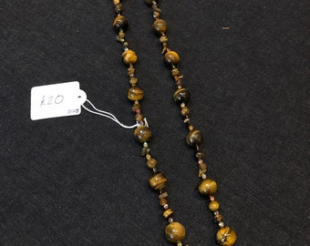 Tiger eye bead necklace