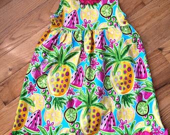 Summer Fruit Dress