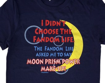 Sailor Moon Anime T-Shirt: Fandom Life