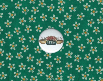 Friends-Inspired Central Perk 1/1.25 inch Button