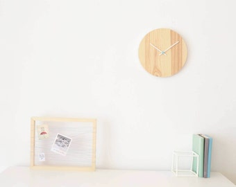 Wooden Wall Clock Wood Clock Modern Clock