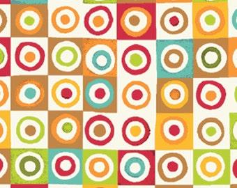 Half Yard Mischief  - Blocks in Red - Little Boy Fabric Line Designed by Nancy Halvorsen for Benartex (w888)