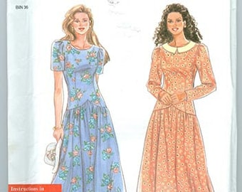 Simplicity Pattern 9756 Women's Dress Dresses NEW Misses Size A 8-18