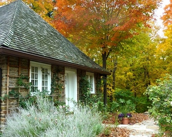 Canada Photography - The Chappell House In The Fall - Toronto - Wall Decor - Canadian Fine Art Print
