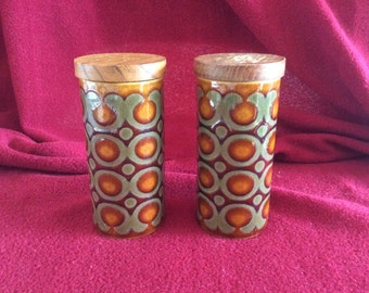 Hornsea Bronte Salt and Pepper Pots 10cm tall