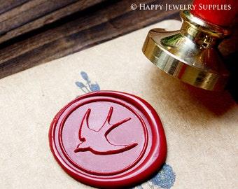 Buy 1 Get 1 Free - Wax Seal Stamp - 1pcs Swallow Metal Stamp / Wedding Wax Seal Stamp / Sealing Wax Stamp (WS106)