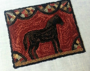 Famous Filly Punchneedle Physical Pattern