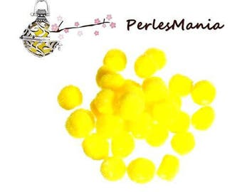 4 balls Polypropylene yellow 14mm FRAGRANCE DIFFUSER has insert in CAGE (S1179382)