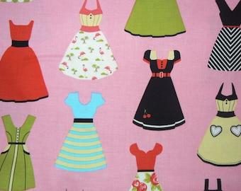 Dresses Cotton Fabric by Riley Blake Designs - 1 Yard