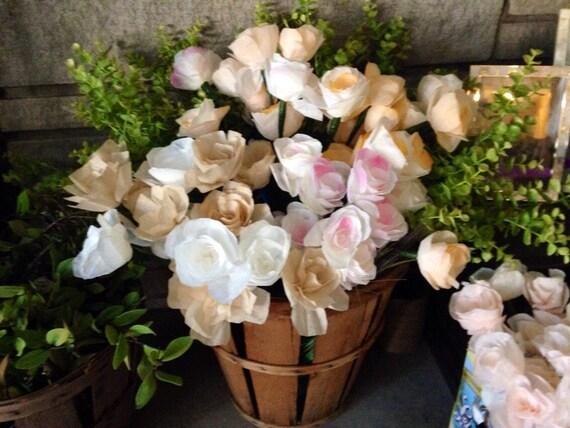 Bulk paper flowers 120 all natural organic paper flowers mightylinksfo