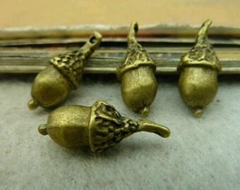 10pcs 7x20mm The  Antique Bronze Retro Pendant Charm For Jewelry Bracelet Necklace Charms Pendants C4514