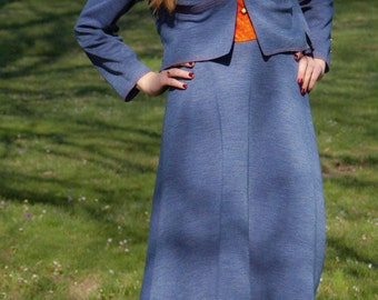 Vintage 1970's Jonathan Logan Dress with Jacket