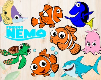 finding nemo clipart etsy rh etsy com squirt finding nemo clipart finding nemo clipart png