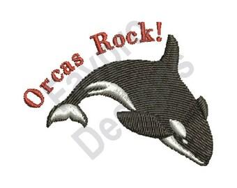 Orcas Rock - Machine Embroidery Design
