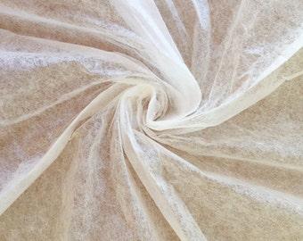 Abaca Tissue, Undyed Fibre Tissue, Lens Tissue, 9gsm, Ivory Colour