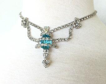 SALE Arianne Rhinestone necklace