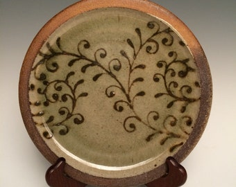 Wood Fired Ceramic Plate